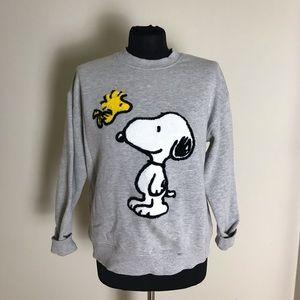 Gray Snoopy Sweatshirt